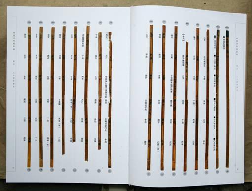古代竹简素材黑白