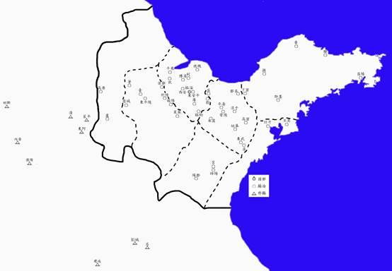 汉初齐国地图 (2)